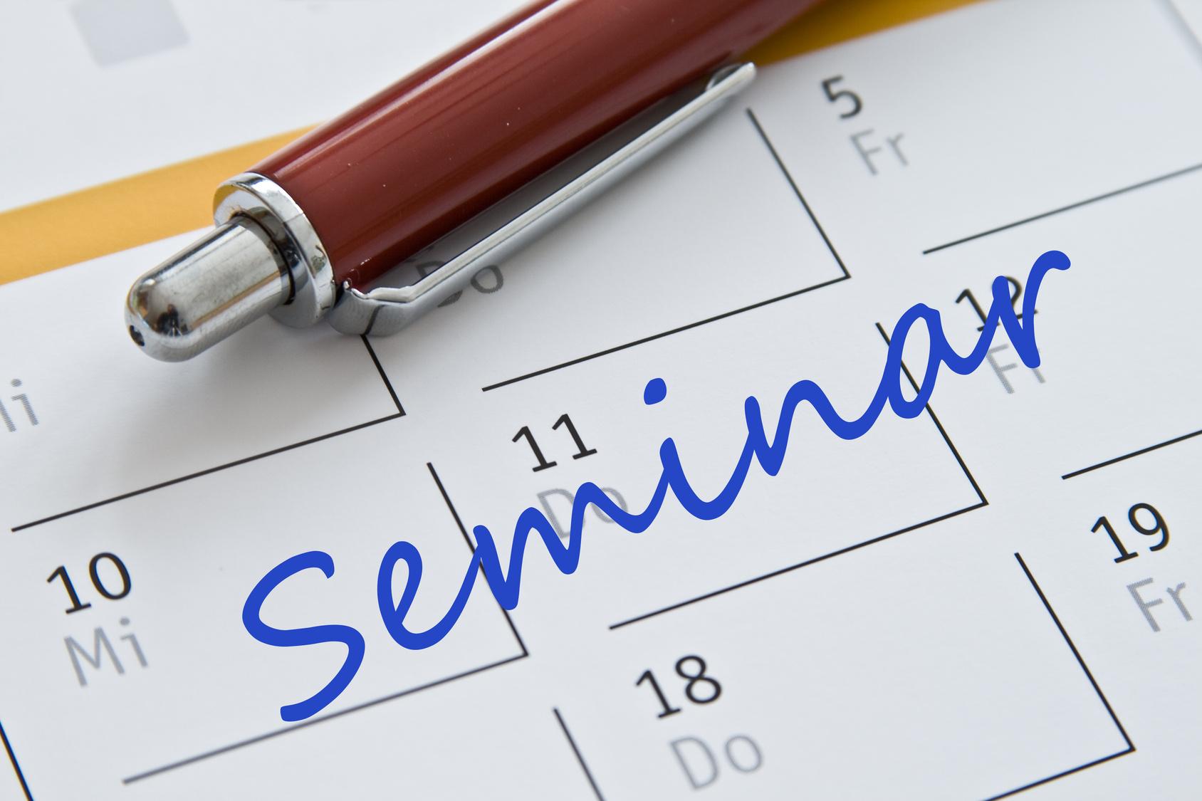 Kalendereintrag Seminar