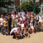 «УЮТно» жить – Праздник для детей прошел в одном из дворов Хабаровска