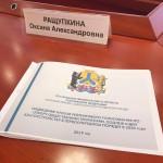 Оксана Ращупкина приняла участие в заседании Общественной комиссии