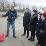 На станции сортированных отходов побывали члены общественного совета министерства ЖКХ края